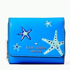 New Kate Spade shore thing small trifold  wallet